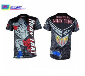 BORN TO BE MUAYTHAI T-SHIRT 09