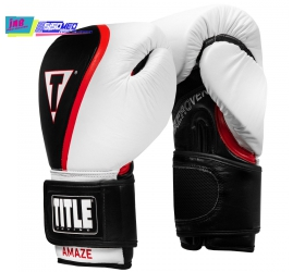 GĂNG TAY BOXING TITLE AEROVENT AMAZE LEATHER SUPER GLOVES