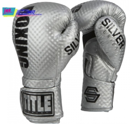 GĂNG BOXING TITLE SILVER SERIES STIMULATE BOXING GLOVES