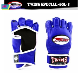 GĂNG TAY TWINS MMA GLOVES- TWINS BOXING, MMA & MUAY THAI - BLUE