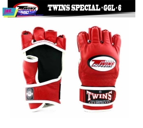 Găng Tay TWINS MMA GLOVES- TWINS BOXING, MMA & MUAY THAI - RED