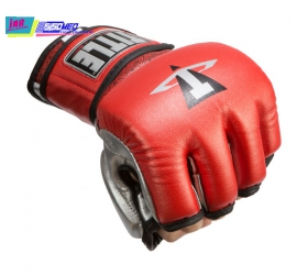 Găng TITLE MMA Menace Metallic Training Gloves - Đỏ