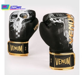 GĂNG VENUM SKULL BOXING GLOVES - BLACK