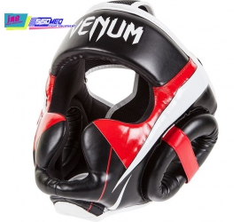 NÓN BẢO HỘ VENUM ELITE HEADGEAR - BLACK/RED/ICE