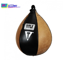 TITLE Vintage Leather Super Speed Bag