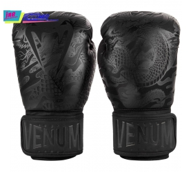 GĂNG TAY BOXING VENUM DRAGON'S FLIGHT BOXING GLOVES - BLACK/BLACK
